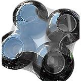 HUYANJUN, 95A 4PCS Reemplazo de Ruedas de monopatín Reparación Cruiser Juegos de Patines deslizantes Piezas Reconstrucción Longboard (Color : Negro)