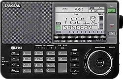 Sangean ATS-909X Weltempfänger, Tragbares digitales Radio UKW - Schwarz