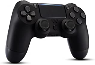$25 » Wireless PS4 Controller for Playstation 4/Pro/Slim Console, PS4 Remote Controller Joystick with Dual Vibration (Black)