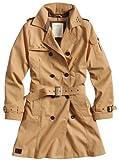 Surplus - Abrigo de Manga Larga para Mujer, Talla 36, Color marrón (Camel Braun)