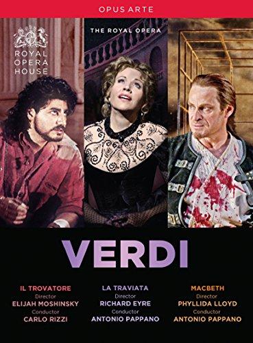 Verdi: Il Trovatore / La Traviata / Macbeth (Royal Opera House) [3 DVDs]
