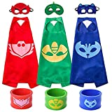 Cartoon Hero Mask Costumes and Dress Up for Kids - Cartoon Heroes Catboy...