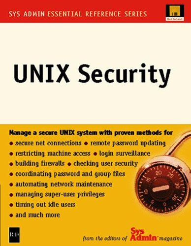 UNIX Security (Sys Admin-Essential Reference Series)