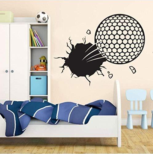 Wandaufkleber Wandbilder Abziehbilder Sport Golfball Pause Vinyl Art Boy Schlafzimmer Home Decoration 57X42 cm