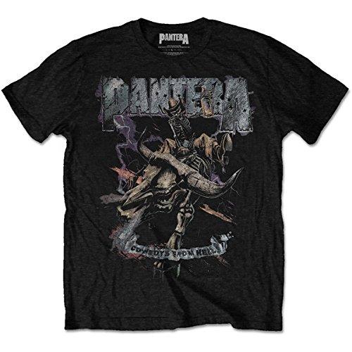 Tee Shack Pantera Cowboys from Hell Dimebag Darrell Oficial Camiseta para Hombre