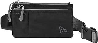 Travelon 6 Pocket Waist-Pack, Black