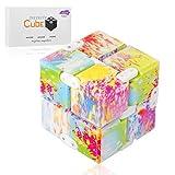 Funxim Infinity Cube Toy per Adulti e Bambini, Nuova Versione Fidget Finger Toy Sollievo dallo Stress e ansia, Killing Time Fidget Toys Cubo Infinito per Il Personale dell'ufficio