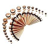 perfeclan Kit de Estiramiento de Calibres de Oído de 36 Piezas,...