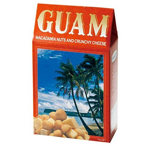 グアム 土産 グアム チーズ&マカデミアナッツ 1箱 (海外旅行 グアム お土産)
