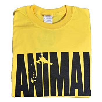 Universal Nutrition Yellow Animal  Iconic T-Shirt XXL