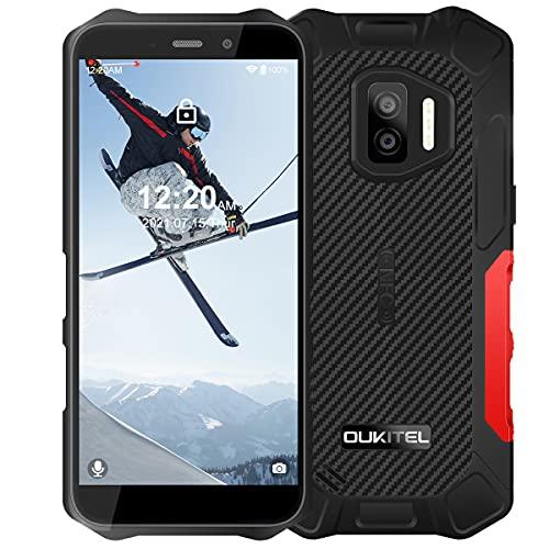 OUKITEL WP12 Pro(2021) Outdoor Smartphone Ohne Vertrag,Android 11 Outdoor Handy (237Gramm),4GB+64GB,Dual SIM 4G,IP68 IP69K Wasserdichter,4000mAh,13MP Dreifachkamera,5,5