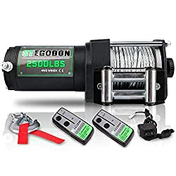 STEGODON 2500 lb. Load Capacity Electric Winch