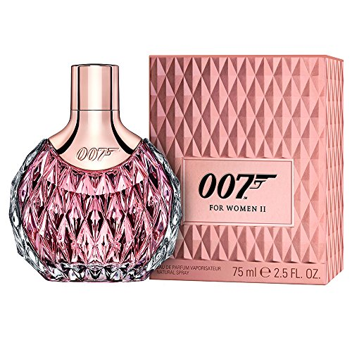 James Bond 007 Women II Eau de Parfum Natural Spray, 1er Pack (1 x 75 ml)