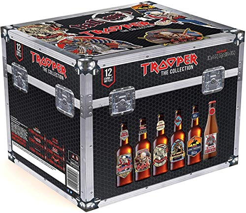 Cofre Iron Maiden Trooper The Collection Cerveza - 12 botellas x 330 ml