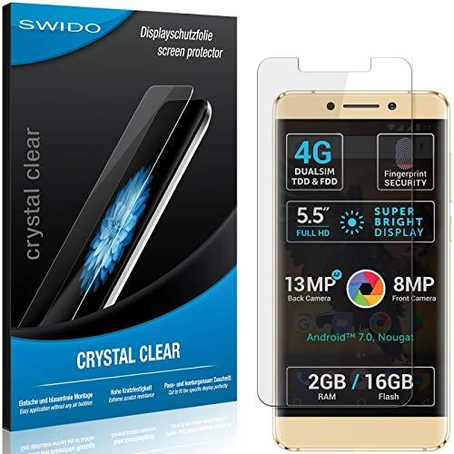 SWIDO Bildschirmschutzfolie für Allview P8 Pro [3 Stück] Kristall-Klar, Extrem Kratzfest, Schutz vor Öl, Staub & Kratzer/Folie, Glasfolie, Bildschirmschutz, Schutzfolie, Panzerfolie
