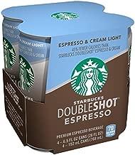 Starbucks Double Shot Espresso Light 6.5 Fl Oz (4 Count)