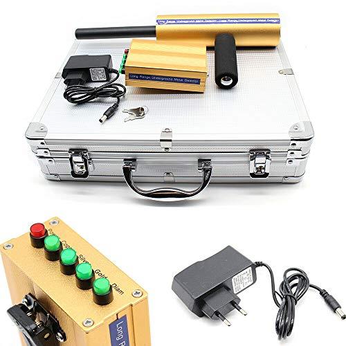 Wangkangyi Metalldetektor Metallsuchgerät AKS 3D Gold Detektor Tiefensonde Gold Digger Metal Detector Handheld Schatzsucher Metallortungsgerät, Angebot 14m Erkundungstief