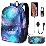 Pawsky Galaxy Backpack for Sch...