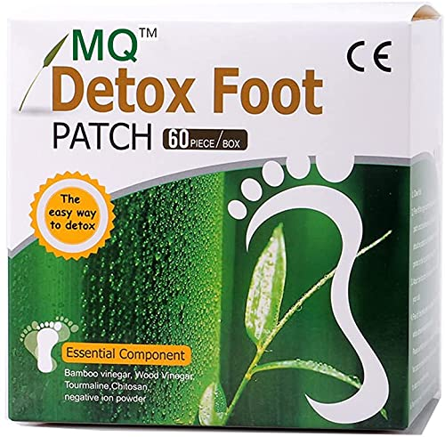 Detox Foot Patch Health Care ,All-Natural Bamboo Detox Foot Pads to Remove Body Toxins,Free Socks for you(30 Packs ,60…
