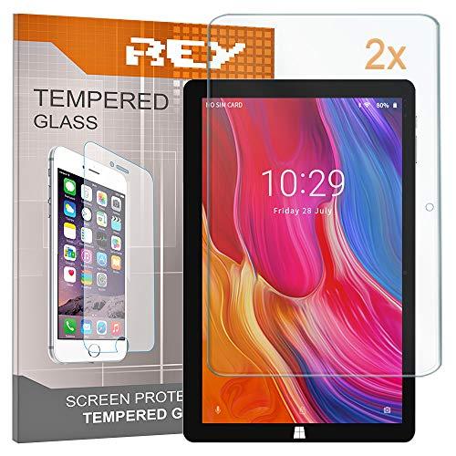 """2X Protector de Pantalla para CHUWI Hi10 Plus/HI 10 Plus 10.8"""", Cristal Vidrio Templado Premium, Táblet"""