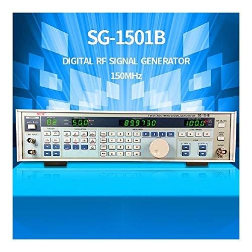 Précis Générateur de signal haute fréquence numérique source de signal standard d'amplitude de modulation d'amplitude de modulation 150MHZ SG-1501B Durable (Size : 220V)