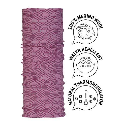Wind Xtreme 5006 - Braga de Cuello para Mujer, Color Rosa, Talla única