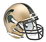 NCAA Michigan State Spartans Collectible Alt 1 Mini Helmet, Gold