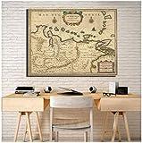 xiongda Karte zeigt Isthmus von Panama Kolumbien und