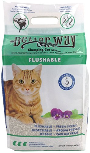 Better Way Eco Fresh Clumping Cat Litter (formerly Better Way Flushable Cat...