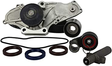 DNJ TBK284WP Timing Belt Kit with Water Pump/For 2000-2004 / Acura, Honda/CL, MDX, Odyssey, Pilot / 3.2L, 3.5L / SOHC / V6 / 24V / 3210cc, 3471cc, 3474cc, 3475cc / J32A1, J32A2, J35A1, J35A3, J35A4