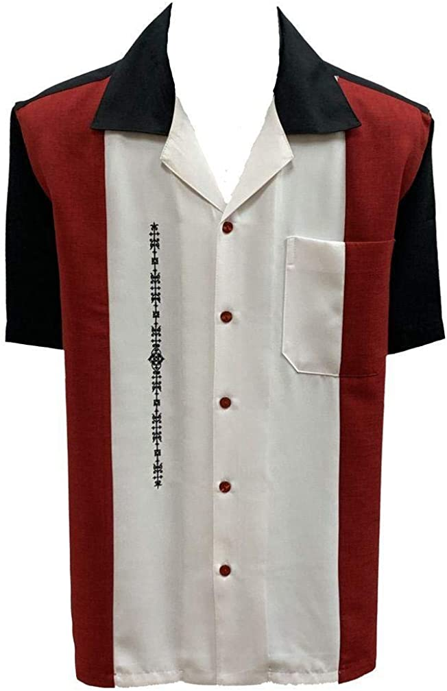 Penner's El Patron Retro Camp Challenge the lowest price of Japan ☆ Shirt Down Short Sleeve Button Atlanta Mall
