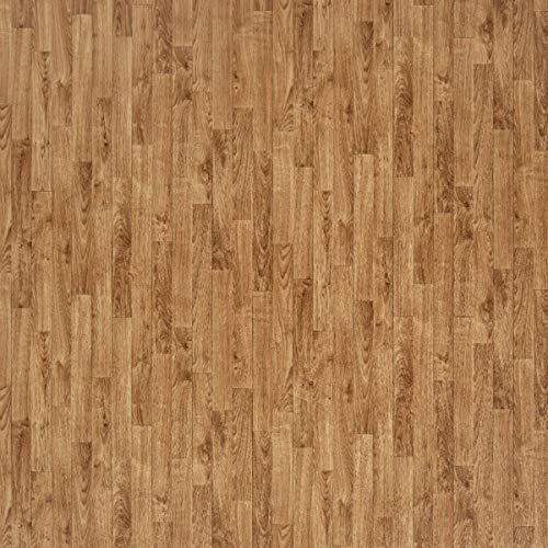 JOKA PVC Vinyl-Bodenbelag in Honig Eiche Schiffsboden | CV JOKA PVC-Belag verfügbar in der Breite 200 cm & Länge 100 cm | CV-Boden wird in benötigter Größe als Meterware geliefert | rutschhemmend