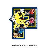 パックマン P ステッカー イラスト レトロ ダイカット ゲーム キャラクター PAC-MAN ライセンス商品 LCS1066 gs グッズ