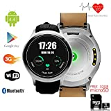 inDigi® 3G 2-in-1 Smartwatch Phone(Factory Unlocked) Android WiFi Google GPS - Free 32gb