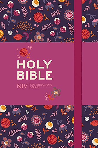 NIV Pocket Floral Notebook Bible