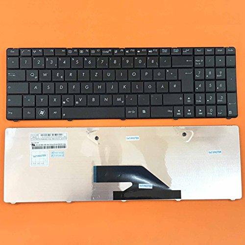 kompatibel für Asus K75, K75A, K75D Tastatur - Farbe: schwarz - Deutsches Tastaturlayout - Version 2