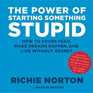 The Power of Starting Something Stupid audiobook cover art
