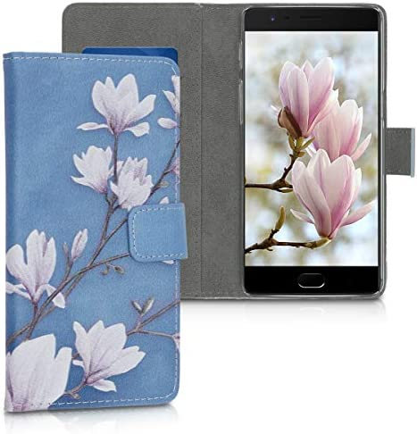 kwmobile Wallet Case Compatible with OnePlus 3 3T PU Leather Flip Cover with Card Slots and product image