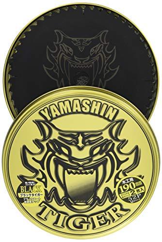 山真製鋸(YAMASHIN) ブラックタイガー 缶入2枚組 丸鋸用 190mm
