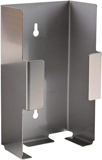 Spender f/ür Einmalhandschuhe Staubdichter transparenter Einweghandschuh Spender Wandhalterung Aufbewahrungsbox Handschuh Dispenserhalter