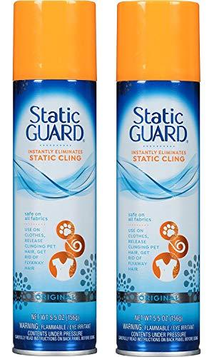 Static Guard Spray, 14 ml 5.5 Oz. durchsichtig