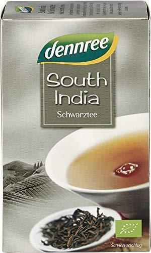 dennree Bio South India Schwarztee (6 x 30 gr)