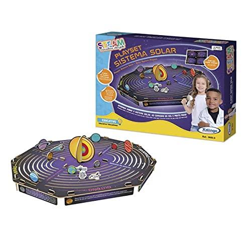 Steam Sistema Solar Playset Xalingo - 50509, Multicor