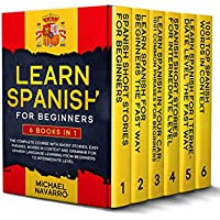 Learn Spanish for Beginners 6-in-1 eBook Set by Michael Navarro for Free