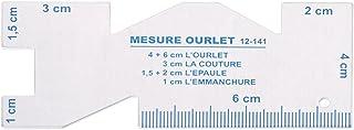 Lunji Règle Couture Métal pour Conception de Vêtements Outils de Maison