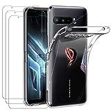 ivoler Hülle für Asus ROG Phone 3 ZS661KS 6.6 Zoll, mit 3