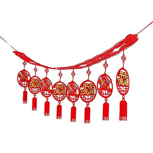 JKYP Festival de Primavera de Año Nuevo Banco Compañía de seguros decora el año del buey