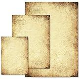 50 Blatt Briefpapier Urkunde ALTES PAPIER - DIN A4 Format | Paper-Media