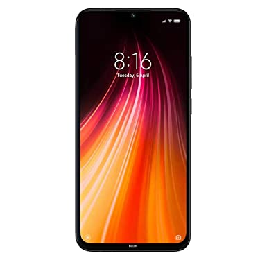 Xiaomi Redmi Note 8 128GB 4GB RAM 48MP Factory Unlocked Global Version Dual SIM Smartphone (Space Black)