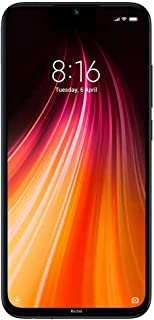 "Xiaomi Redmi Note 8 Smartphone, 6.3"", Dual SIM, 128GB, 4GB RAM, Space Black"